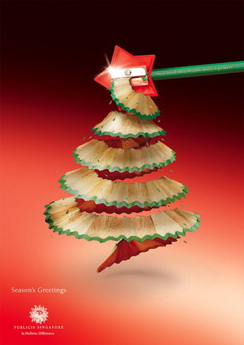 19 Inspiring Christmas Advertisement Design