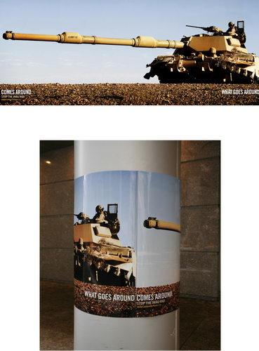 anti war post design