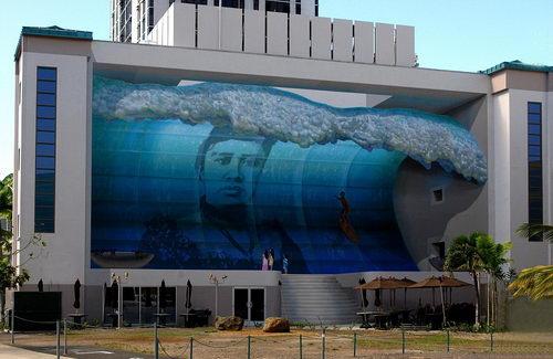 stunning 3d murals painting
