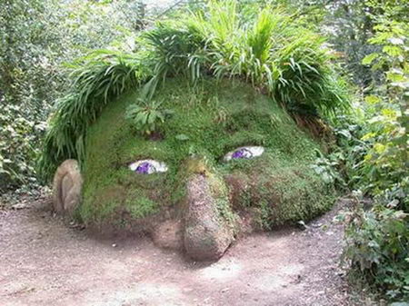 grass sculpture