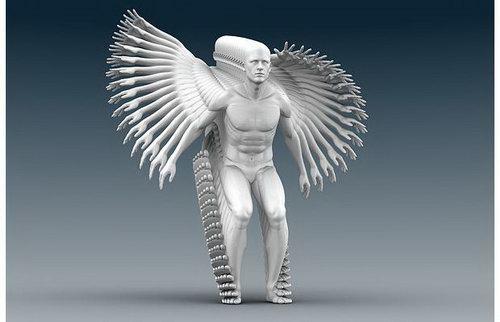 Amazing! Moving Sculpture