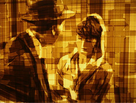 Amazing Art Done With Parcel Tape from Mark Khaisman