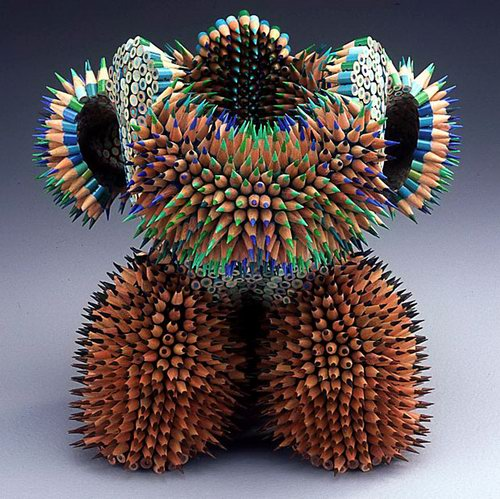 incredible pencil sculptures