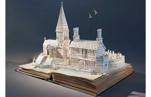 Amazing Book Carving