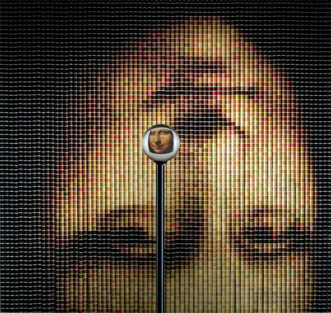 Tofu Lisa, Sausage Lisa, Red Bull Lisa - 12 creative ways to reproduce Mona Lisa