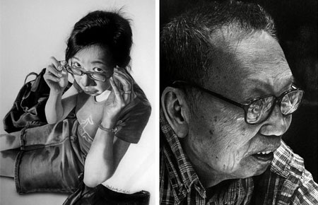 Photo? Drawing? Photo-realistic Pencil Drawings