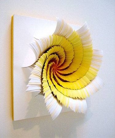 Simple but Beautiful! Rotating Paper Art