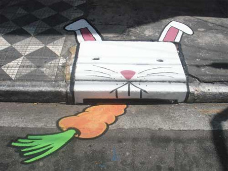 Awesome Graffiti on Sewer