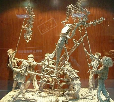 Amazing Straw Art from China