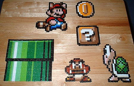 Perler Bead Gaming World