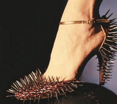unusual and creepy shoes design
