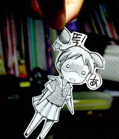 Play with Paper Cartoon Character?