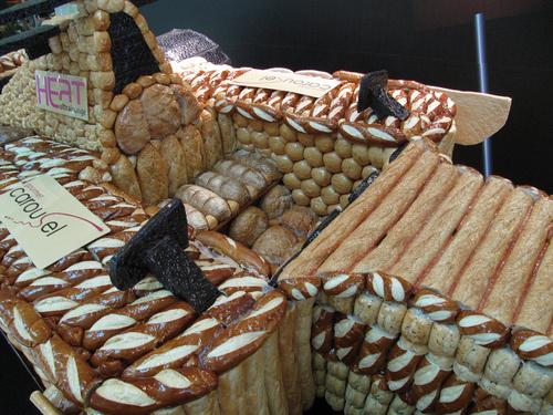 Life-Size Bread F1 Car-Delicious