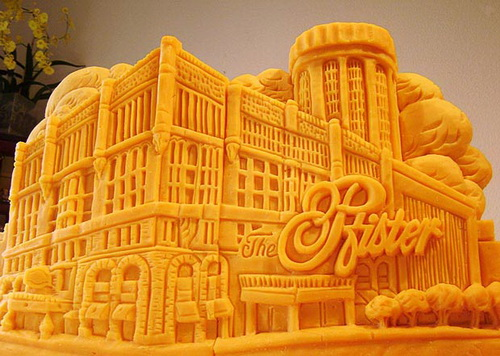 Edible Sculpture - Cheese Sculpture