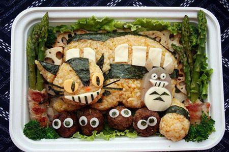 Japanese Food Art - Cute Bent
