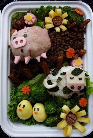 Japanese Food Art - Cute Bentō