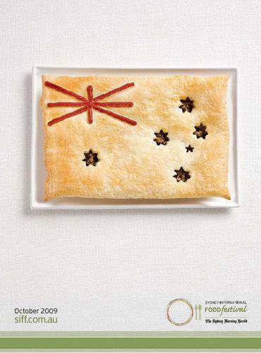 Food Flag from Sydney International Food Festival