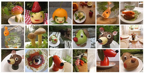 Food Transformer- Very Cute