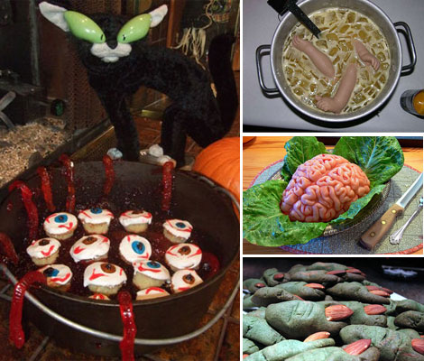 10 Creepy and Scary Halloween Food