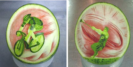 Amazing Watermelon Carving Art