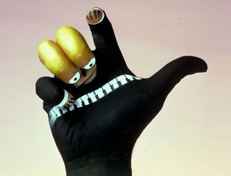 All about finger: Funny Finger Art
