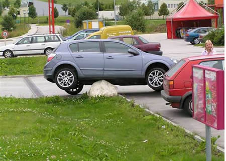 funny pictures of skillful parking
