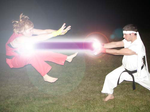 We Love Street Fighter! We Love Hadouken