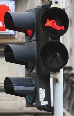 Funny Traffic Light!