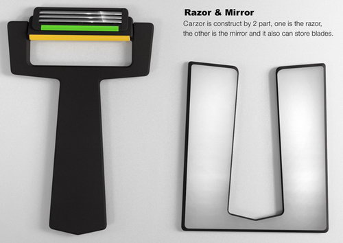 Card Shape Shaver - The Stubble Eliminator!