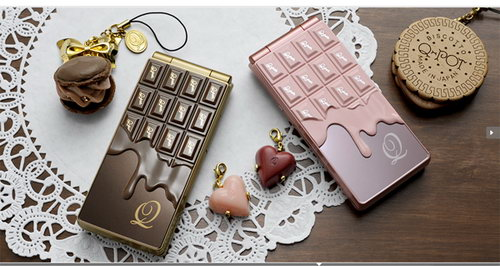 Melting Chocolate Phone - Sweet Gift for Christmas
