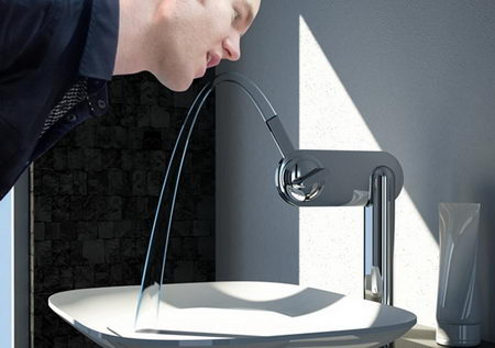 creative design of faucet