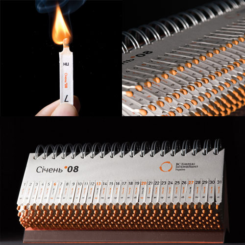10 Interesting Design Inspired by Matches