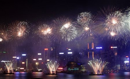Parade and Firework Photos of China 60th Anniversity