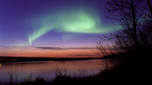 breathtaking northern lights