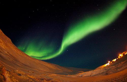 breathtaking northern lights