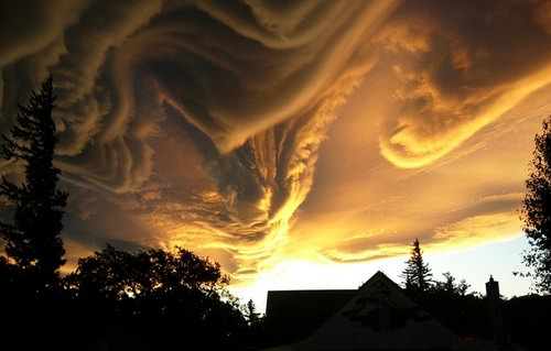 awesome looking clouds