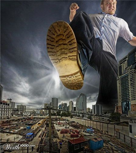 10 Amazing Exaggeration Themed Photos