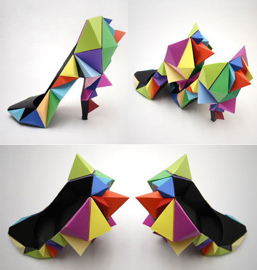 Ndeur Concept Paper Shoes