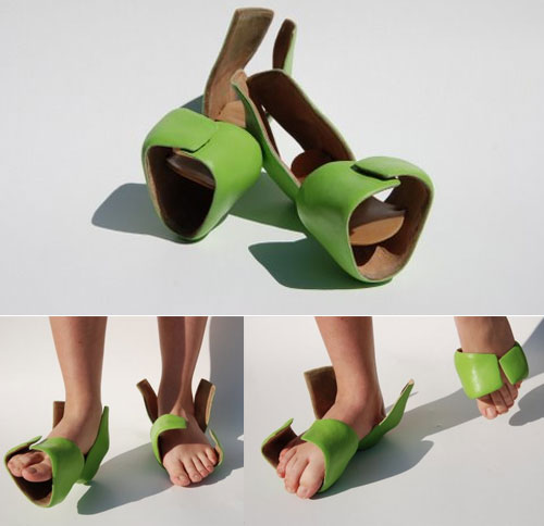 Shoes from Keren Peretz - clog-like slippers