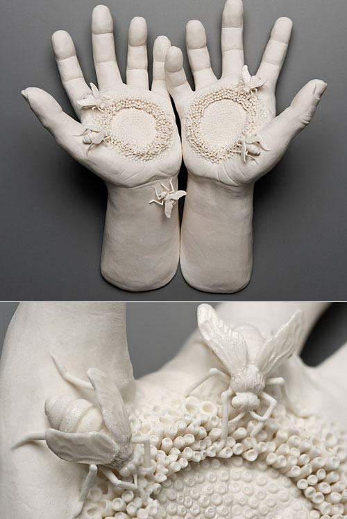 Porcelain Art - Human and Nature