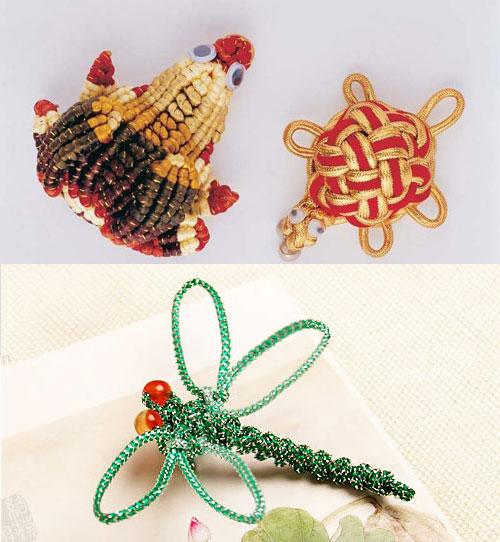 Beautiful Chinese knotting Art