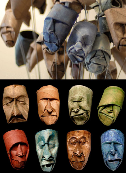 Humble Art - Toilet Paper Roll Art