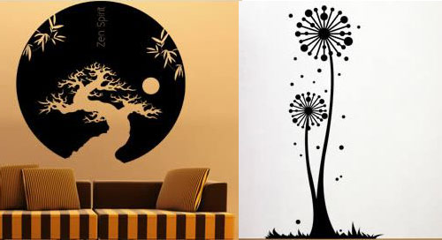 Wall Decals Designs Home Design Ideas