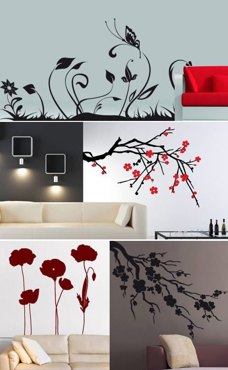 Stylish Wall Decals from Dezign With a Z