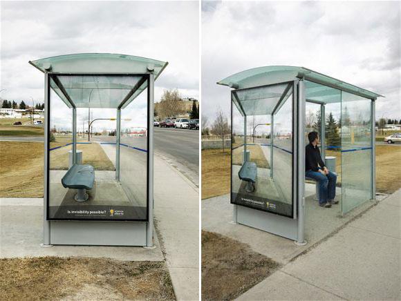 Bus Stop Advertisements