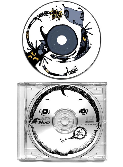 Creative and Funny CD Design