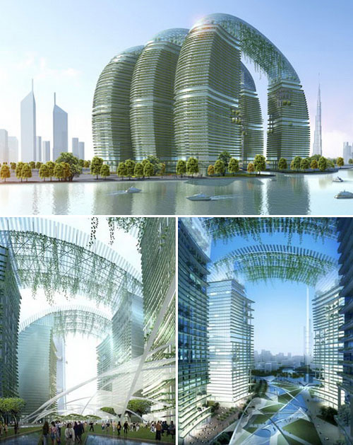 Futuristic Nature House Design: 11 Futuristic Eco Buildings