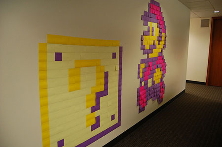 Amazing Post-it Notes Art
