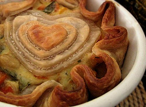 Chicken Pot Pie with love
