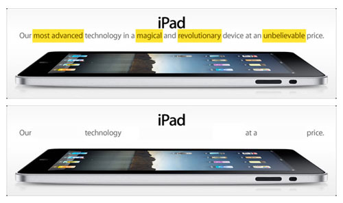 Most Teasing Photos of iPad